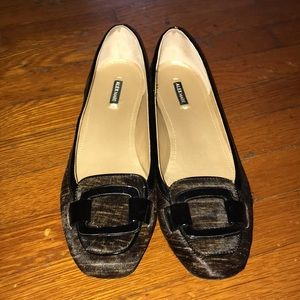 Alex Marie brown slip on shoes